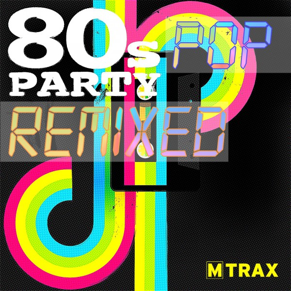 80s pop party remixed fitness music shop