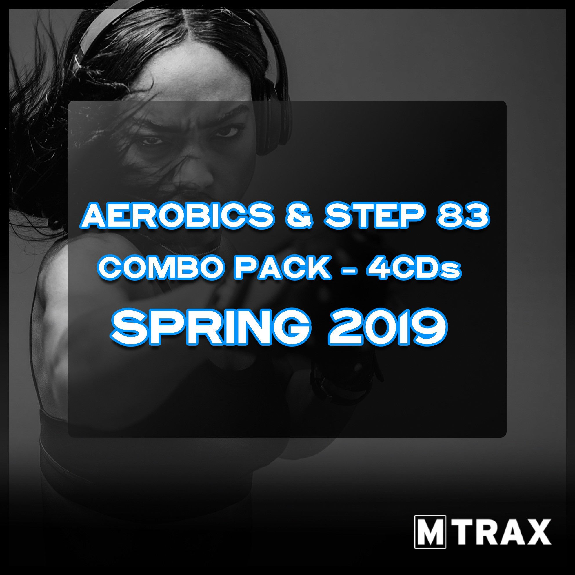 Aerobics & Step 83 Spring 2019 Combo Pack (4CDs)