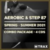 Aerobic & Step 87 Spring - Summer 2021 Combo Pack (4CDs)