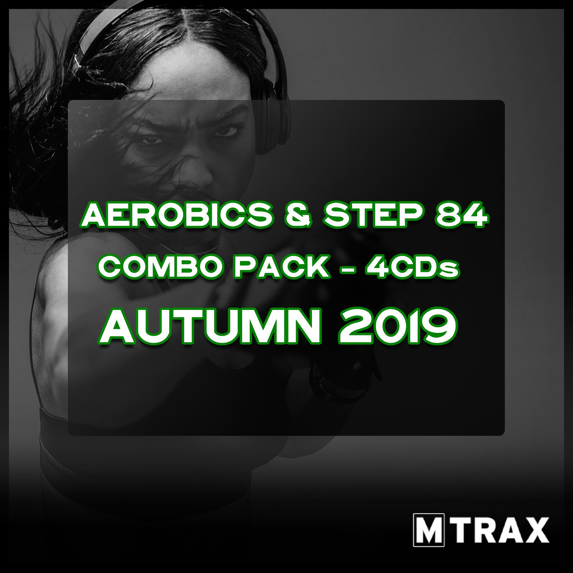 Aerobics & Step 84 Autumn 2019 Combo Pack (4CDs)